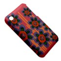 Colorful Floral Dream Apple iPhone 3G/3GS Hardshell Case (PC+Silicone) View5
