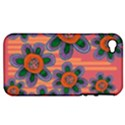 Colorful Floral Dream Apple iPhone 4/4S Hardshell Case (PC+Silicone) View1