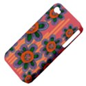 Colorful Floral Dream Apple iPhone 4/4S Hardshell Case (PC+Silicone) View4