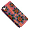 Colorful Floral Dream Apple iPhone 4/4S Hardshell Case (PC+Silicone) View5