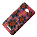 Colorful Floral Dream HTC Butterfly X920E Hardshell Case View4
