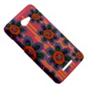 Colorful Floral Dream HTC Butterfly X920E Hardshell Case View5