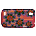 Colorful Floral Dream HTC Desire V (T328W) Hardshell Case View1