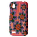 Colorful Floral Dream HTC Desire V (T328W) Hardshell Case View3
