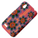 Colorful Floral Dream HTC Desire V (T328W) Hardshell Case View4