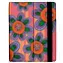 Colorful Floral Dream Samsung Galaxy Tab 7  P1000 Flip Case View2