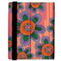 Colorful Floral Dream Samsung Galaxy Tab 8.9  P7300 Flip Case View3