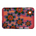 Colorful Floral Dream Samsung Galaxy Tab 2 (7 ) P3100 Hardshell Case  View1