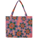 Colorful Floral Dream Mini Tote Bag View1