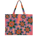 Colorful Floral Dream Large Tote Bag View1