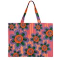 Colorful Floral Dream Large Tote Bag View2