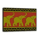 Elephant Pattern Canvas 18  x 12  View1