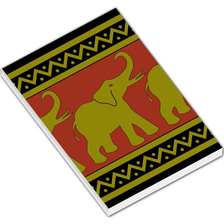 Elephant Pattern Large Memo Pads