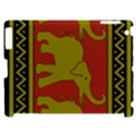 Elephant Pattern Apple iPad 2 Hardshell Case (Compatible with Smart Cover) View1