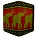 Elephant Pattern Apple iPad 2 Flip Case View4