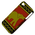 Elephant Pattern Apple iPhone 4/4S Hardshell Case (PC+Silicone) View4