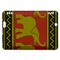 Elephant Pattern Kindle Fire HDX Hardshell Case View1