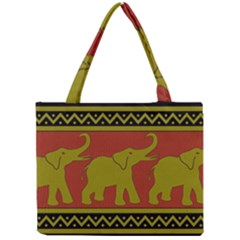 Elephant Pattern Mini Tote Bag