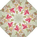 Floral Pattern Background Folding Umbrellas View1
