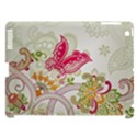 Floral Pattern Background Apple iPad 3/4 Hardshell Case (Compatible with Smart Cover) View1