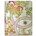 Floral Pattern Background Apple iPad 3/4 Flip Case View1