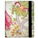 Floral Pattern Background Samsung Galaxy Tab 8.9  P7300 Flip Case View2
