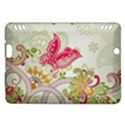 Floral Pattern Background Kindle Fire HDX Hardshell Case View1