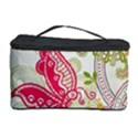 Floral Pattern Background Cosmetic Storage Case View1