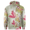 Floral Pattern Background Men s Pullover Hoodie View1