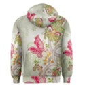 Floral Pattern Background Men s Zipper Hoodie View2