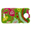 Green Organic Abstract HTC One X Hardshell Case  View1