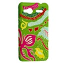 Green Organic Abstract HTC Radar Hardshell Case  View2
