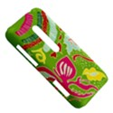 Green Organic Abstract HTC Evo 3D Hardshell Case  View5