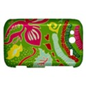 Green Organic Abstract HTC Wildfire S A510e Hardshell Case View1