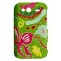 Green Organic Abstract HTC Wildfire S A510e Hardshell Case View2