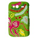 Green Organic Abstract HTC Wildfire S A510e Hardshell Case View3