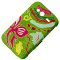 Green Organic Abstract HTC Wildfire S A510e Hardshell Case View4