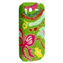 Green Organic Abstract HTC Desire S Hardshell Case View2