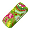 Green Organic Abstract HTC Desire S Hardshell Case View4