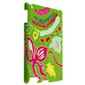 Green Organic Abstract Apple iPad 2 Hardshell Case View2