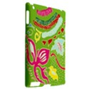 Green Organic Abstract Apple iPad 2 Hardshell Case (Compatible with Smart Cover) View2