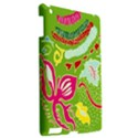 Green Organic Abstract Apple iPad 3/4 Hardshell Case View2