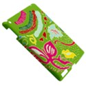 Green Organic Abstract Apple iPad 3/4 Hardshell Case View5