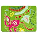 Green Organic Abstract Kindle Fire (1st Gen) Flip Case View1