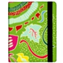 Green Organic Abstract Kindle Fire (1st Gen) Flip Case View2