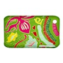 Green Organic Abstract Apple iPhone 3G/3GS Hardshell Case (PC+Silicone) View1