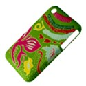 Green Organic Abstract Apple iPhone 3G/3GS Hardshell Case (PC+Silicone) View4