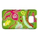 Green Organic Abstract Samsung Galaxy S II i9100 Hardshell Case (PC+Silicone) View1
