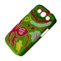 Green Organic Abstract Samsung Galaxy S III Classic Hardshell Case (PC+Silicone) View4