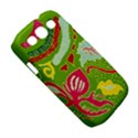 Green Organic Abstract Samsung Galaxy S III Classic Hardshell Case (PC+Silicone) View5
